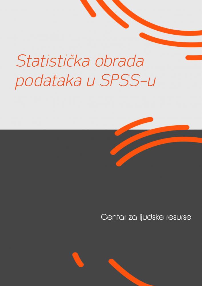 Statistička obrada podataka u SPSS-u