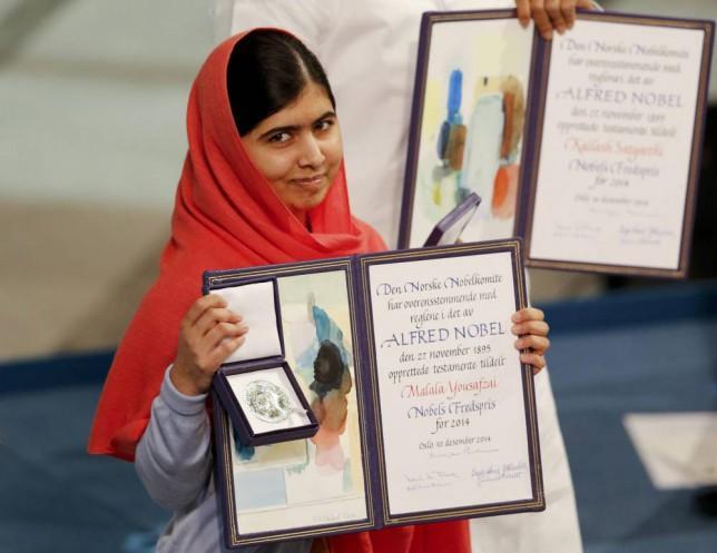 Malala Yousafzai - Nobelova nagrada za mir