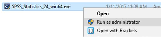Pokretanje SPSS-a Windows